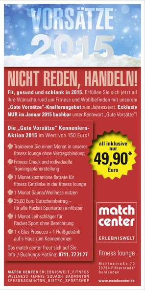 News - match center in Filderstadt / Bonlanden